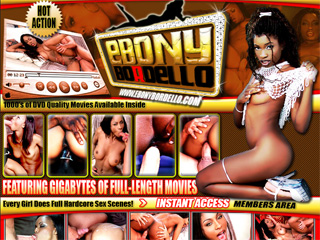 Ebony Bordello - Watc Horny Ebony Sluts Who Think They're All That Get Fucked In All Hole!