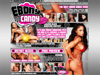 Ebony candy - only the finest ass & most hardcore sistas found here. Its all good!!