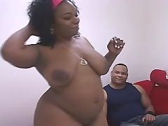 Stunning ebony fucking brains out
